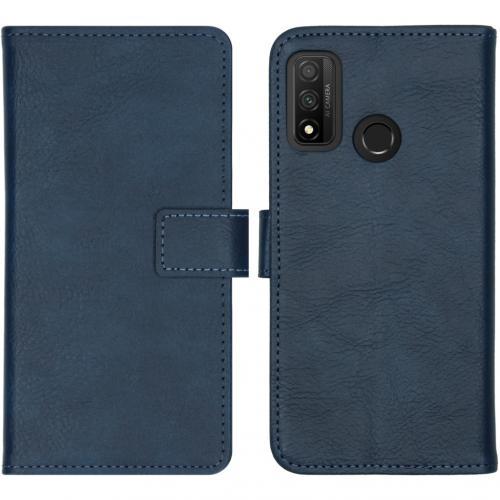 Luxe Booktype voor de Huawei P Smart (2020) - Donkerblauw