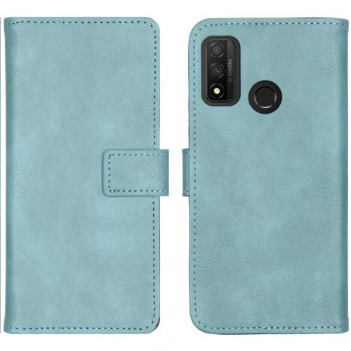 Luxe Booktype voor de Huawei P Smart (2020) - Lichtblauw