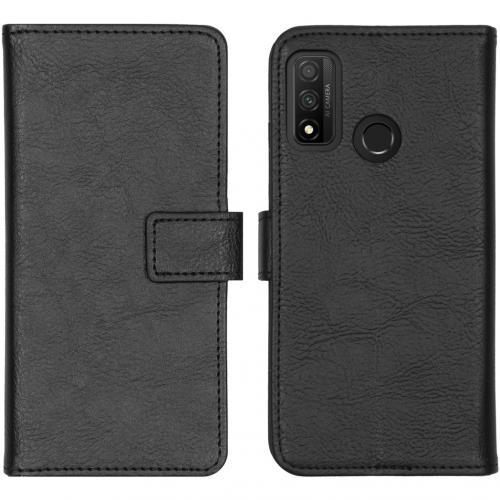 Luxe Booktype voor de Huawei P Smart (2020) - Zwart
