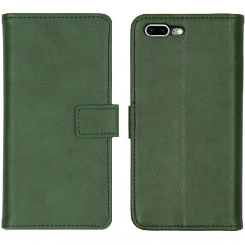 Luxe Booktype voor de iPhone 8 Plus / 7 Plus - Groen