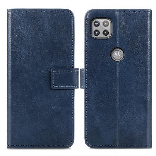 Luxe Booktype voor de Motorola Moto G 5G - Donkerblauw