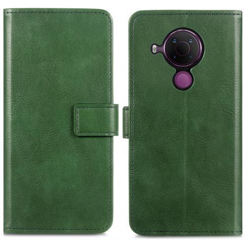 Luxe Booktype voor de Nokia 5.4 - Groen