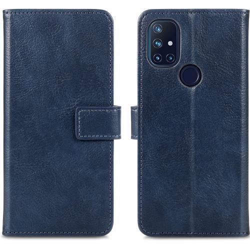 Luxe Booktype voor de OnePlus Nord N10 5G - Donkerblauw