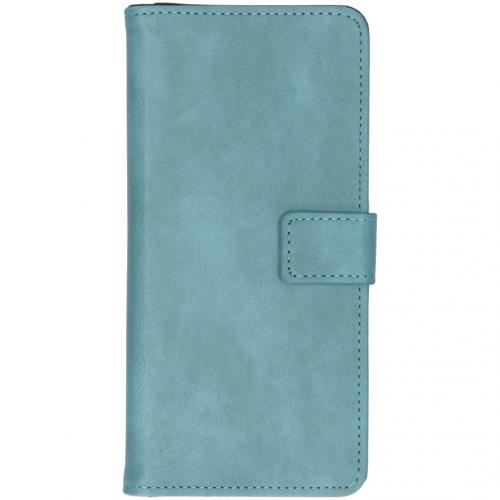 Luxe Booktype voor de Samsung Galaxy Note 10 Plus - Lichtblauw