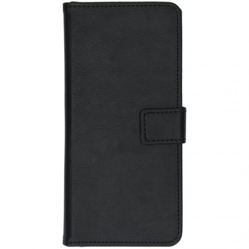 Luxe Booktype voor de Samsung Galaxy Note 10 Plus - Zwart