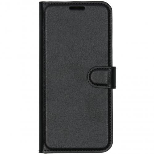 Luxe Booktype voor de Xiaomi Redmi Note 8T - Zwart