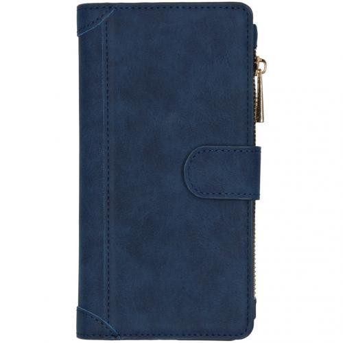 Luxe Portemonnee voor de Huawei Mate 30 Pro - Donkerblauw