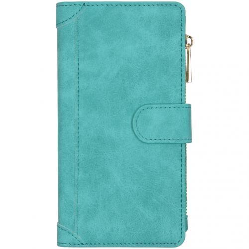 Luxe Portemonnee voor de Huawei Mate 30 Pro - Turquoise