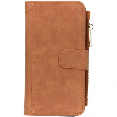 Luxe Portemonnee voor de iPhone 11 - Bruin