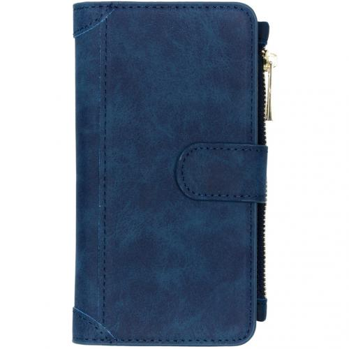 Luxe Portemonnee voor de iPhone 11 - Donkerblauw
