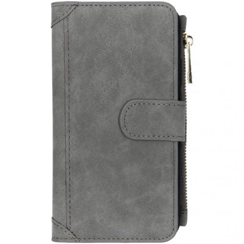 Luxe Portemonnee voor de iPhone 11 - Grijs