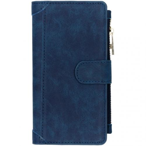 Luxe Portemonnee voor de iPhone 11 Pro Max - Donkerblauw