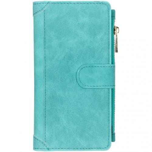 Luxe Portemonnee voor de iPhone 11 Pro Max - Turquoise
