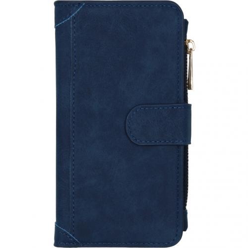Luxe Portemonnee voor de iPhone 12 6.1 inch - Blauw
