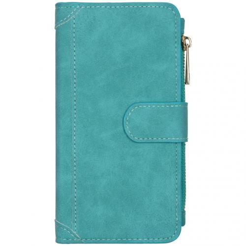 Luxe Portemonnee voor de iPhone 12 6.1 inch - Turquoise