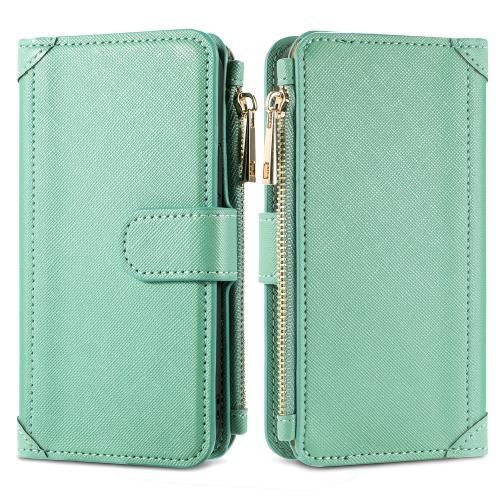Luxe Portemonnee voor de Samsung Galaxy A12 - Groen