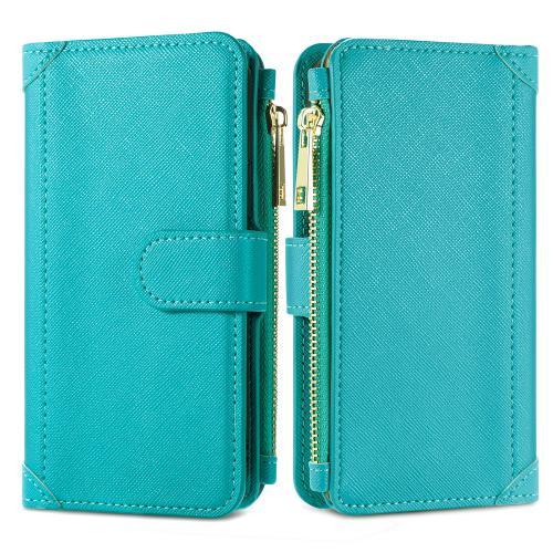 Luxe Portemonnee voor de Samsung Galaxy A12 - Turquoise