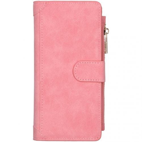 Luxe Portemonnee voor de Samsung Galaxy A21s - Roze