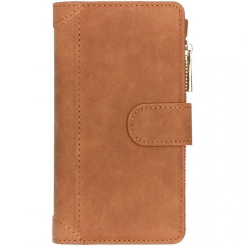 Luxe Portemonnee voor de Samsung Galaxy A41 - Bruin