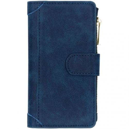 Luxe Portemonnee voor de Samsung Galaxy A41 - Donkerblauw