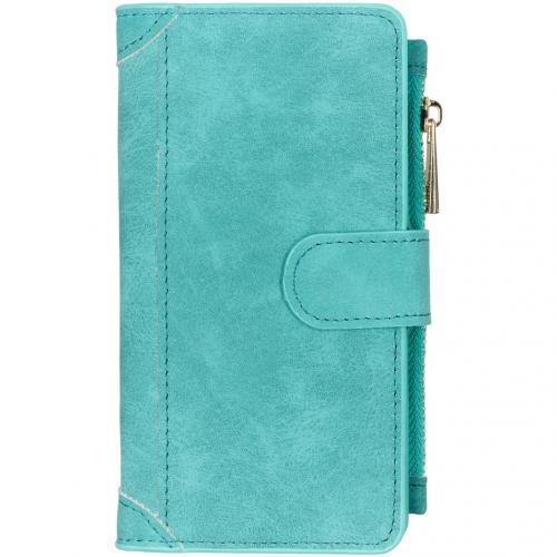 Luxe Portemonnee voor de Samsung Galaxy A41 - Turquoise