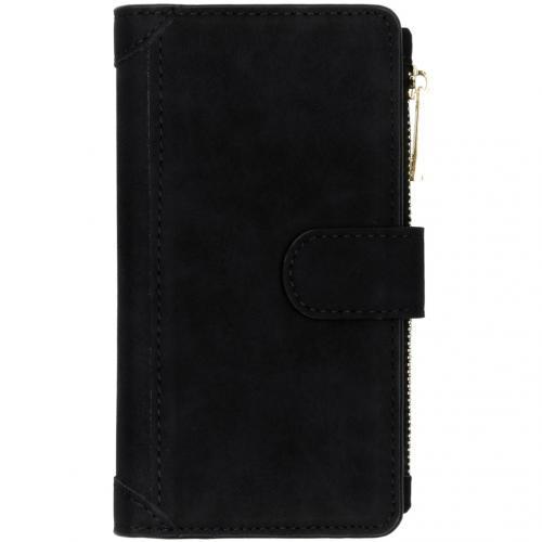 Luxe Portemonnee voor de Samsung Galaxy A41 - Zwart
