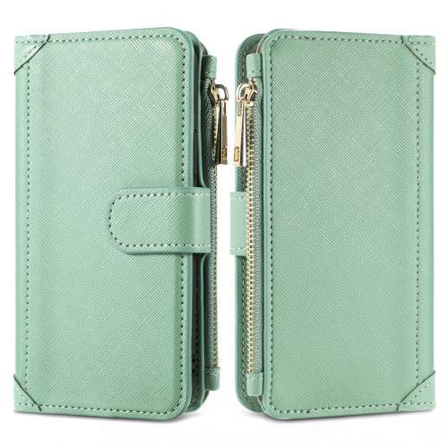 Luxe Portemonnee voor de Samsung Galaxy A42 - Groen