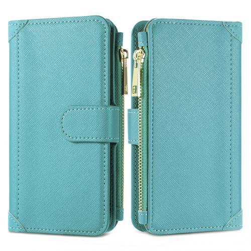 Luxe Portemonnee voor de Samsung Galaxy A42 - Turquoise