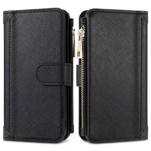 Luxe Portemonnee voor de Samsung Galaxy A42 - Zwart