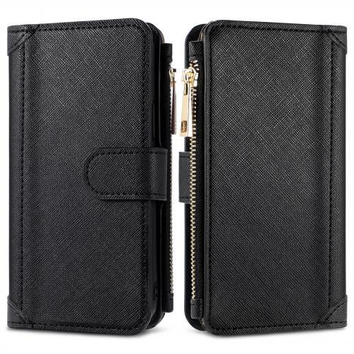 Luxe Portemonnee voor de Samsung Galaxy A52 (5G) / A52 (4G) - Zwart