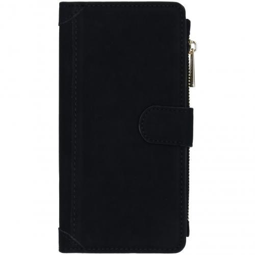 Luxe Portemonnee voor de Samsung Galaxy A71 - Zwart