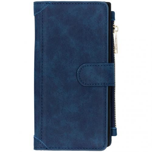Luxe Portemonnee voor de Samsung Galaxy Note 10 Plus - Donkerblauw