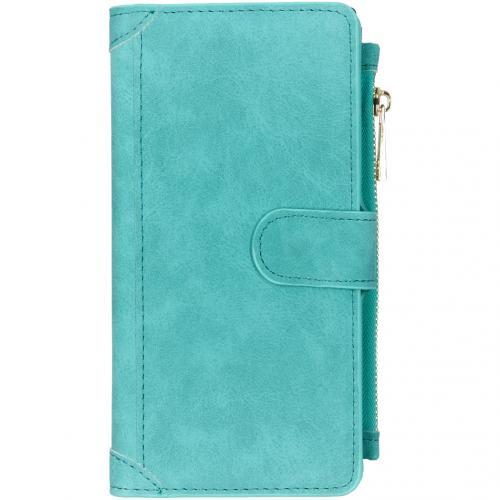 Luxe Portemonnee voor de Samsung Galaxy Note 10 Plus - Turquoise