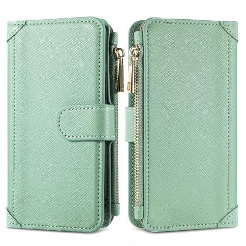 Luxe Portemonnee voor de Samsung Galaxy S10 - Groen