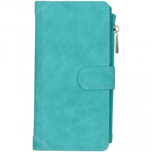 Luxe Portemonnee voor de Samsung Galaxy S10 Lite - Turquoise