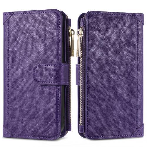Luxe Portemonnee voor de Samsung Galaxy S10 - Paars