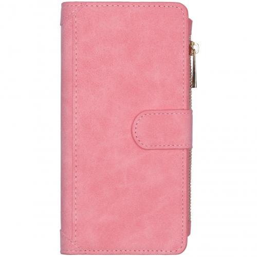 Luxe Portemonnee voor de Samsung Galaxy S20 Plus - Roze