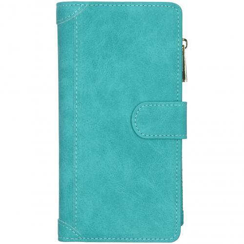 Luxe Portemonnee voor de Samsung Galaxy S20 Plus - Turquoise