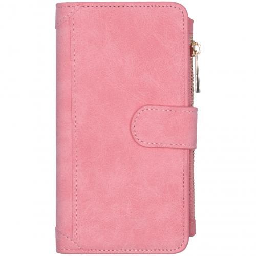 Luxe Portemonnee voor de Samsung Galaxy S20 - Roze