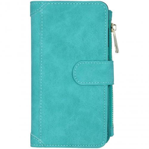 Luxe Portemonnee voor de Samsung Galaxy S20 - Turquoise