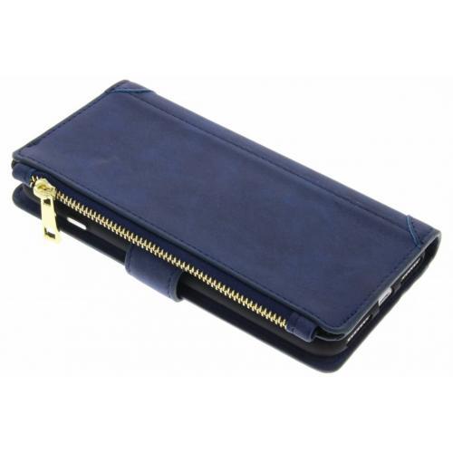Luxe Portemonnee voor iPhone 8 Plus / 7 Plus - Donkerblauw