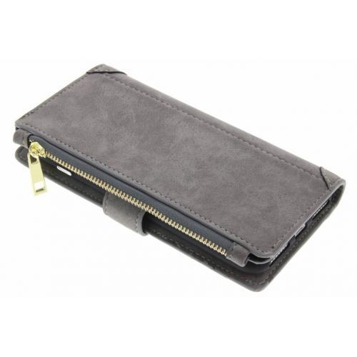 Luxe Portemonnee voor iPhone 8 Plus / 7 Plus - Grijs