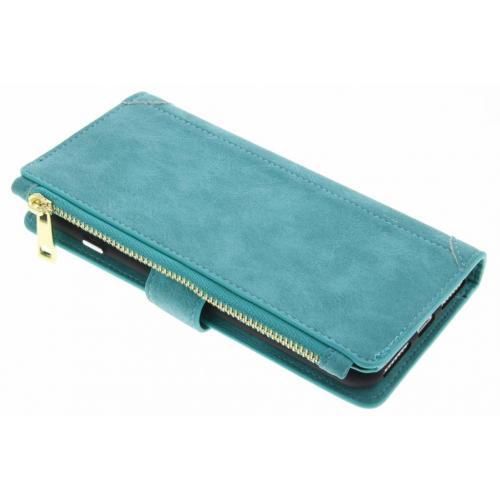 Luxe Portemonnee voor iPhone 8 Plus / 7 Plus - Turquoise