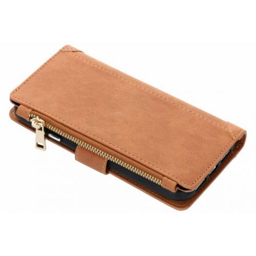 Luxe Portemonnee voor iPhone Xr - Bruin