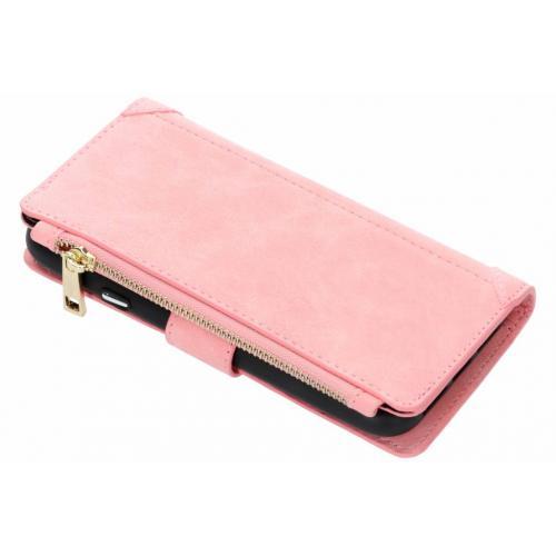 Luxe Portemonnee voor iPhone Xr - Roze