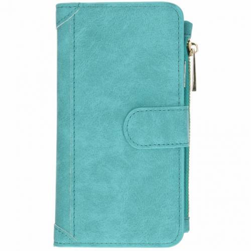 Luxe Portemonnee voor iPhone Xr - Turquoise