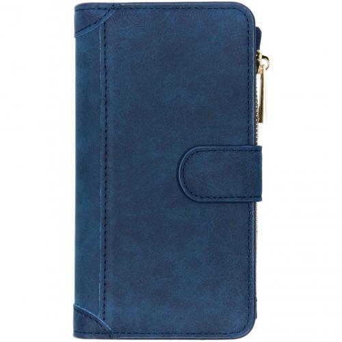 Luxe Portemonnee voor Samsung Galaxy S10 - Donkerblauw