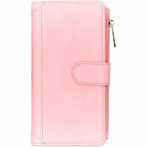Luxe Portemonnee voor Samsung Galaxy S10 Plus - Roze