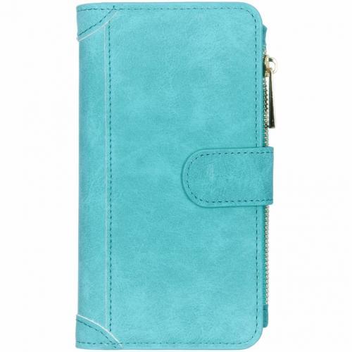 Luxe Portemonnee voor Samsung Galaxy S10 - Turquoise