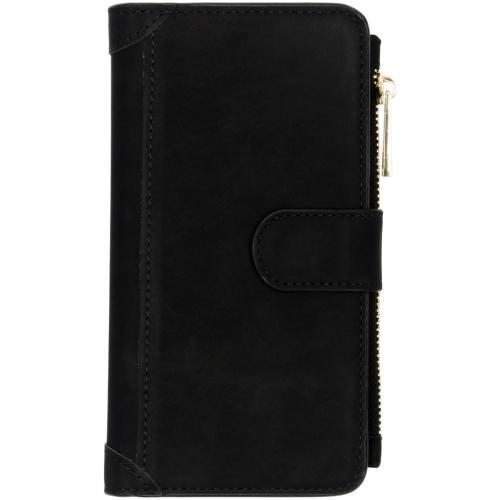 Luxe Portemonnee voor Samsung Galaxy S10 - Zwart
